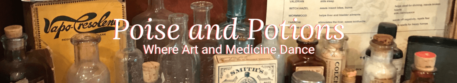 Poise and Potions Banner
